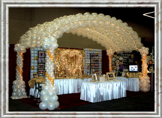 Balloon decor for Balloon decoration ideas for a quinceanera